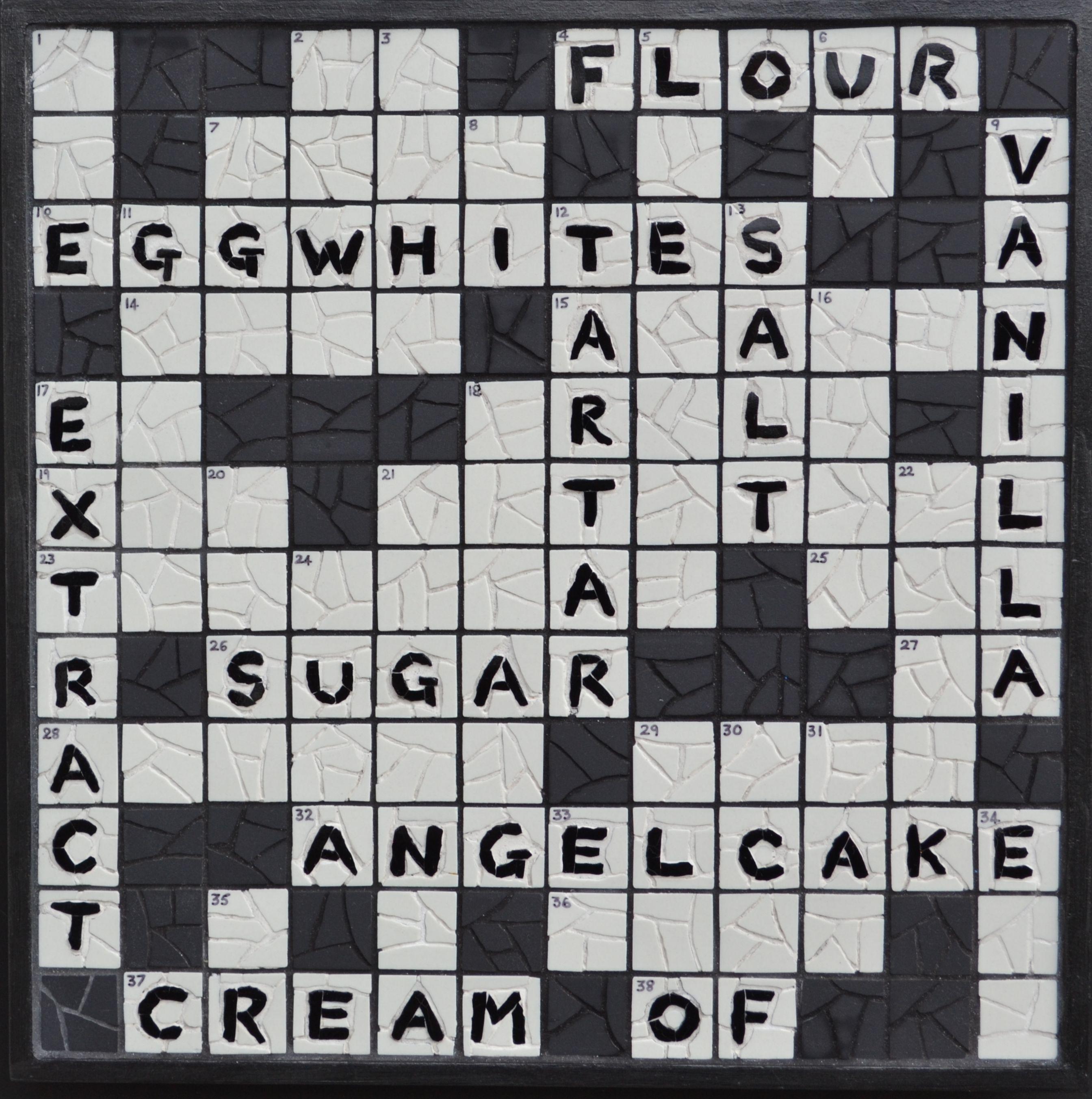 Angel cake crossword