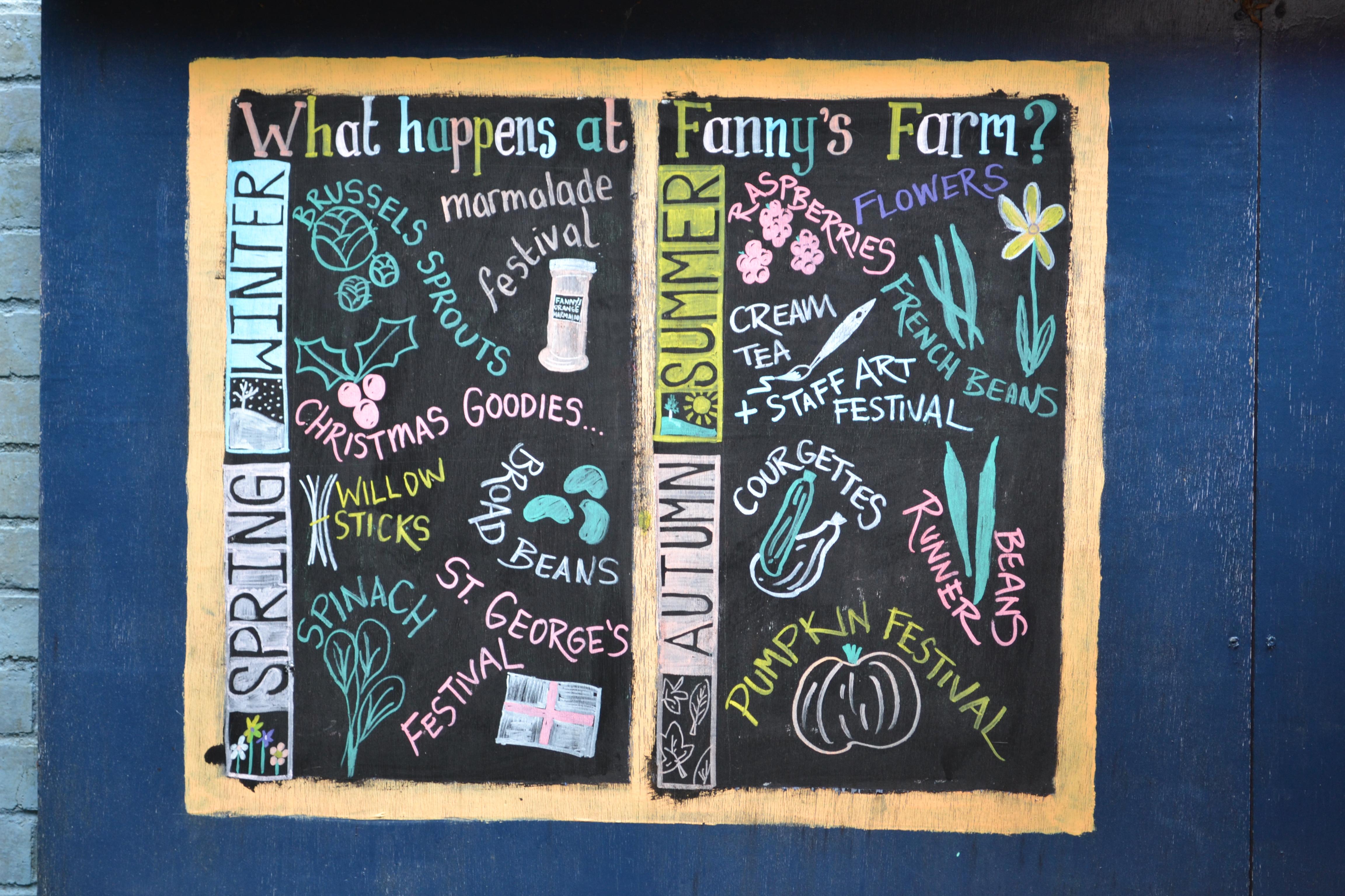 Fanny's Farm Calendar