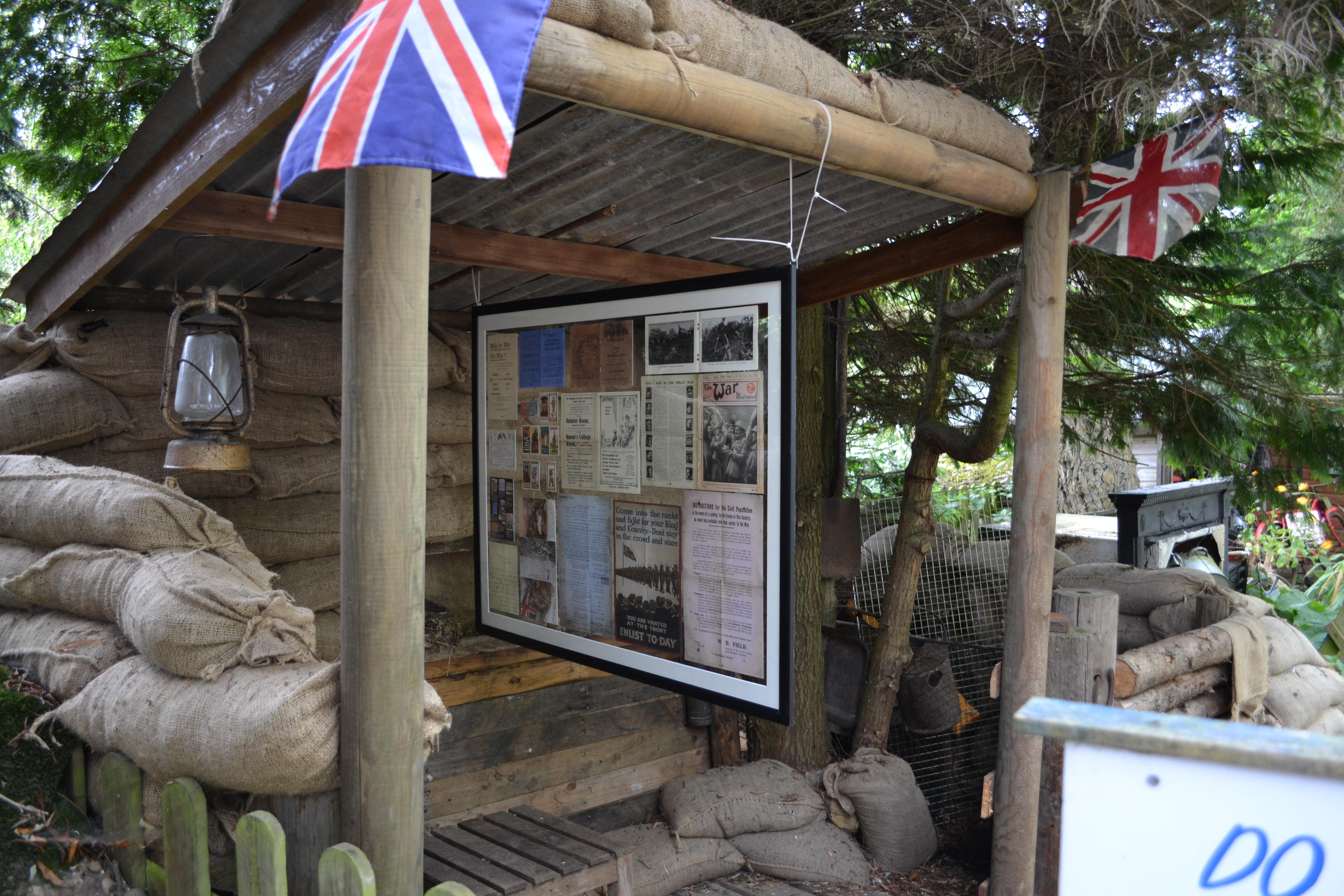 WWI bunker