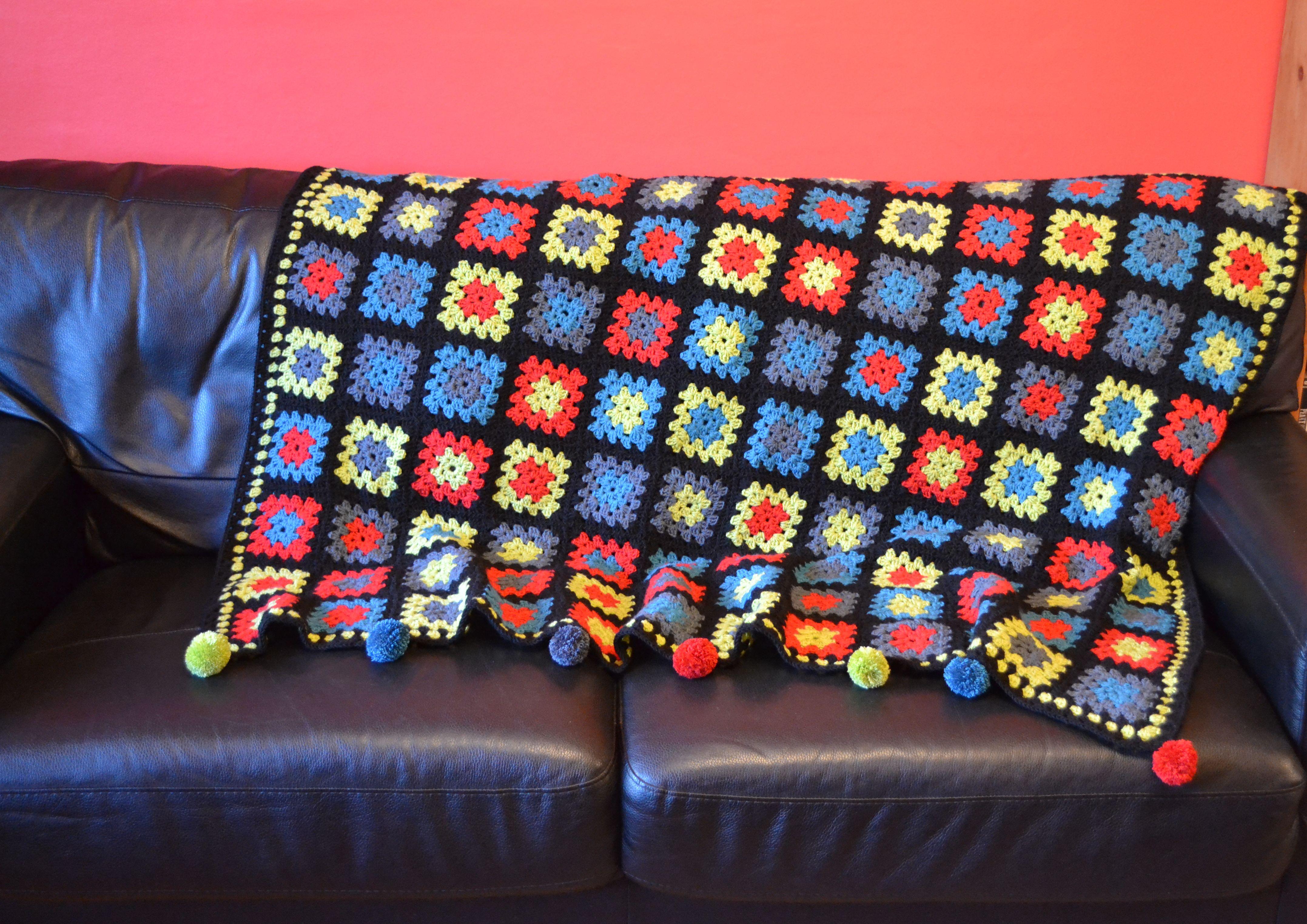 Crochet blanket (2)