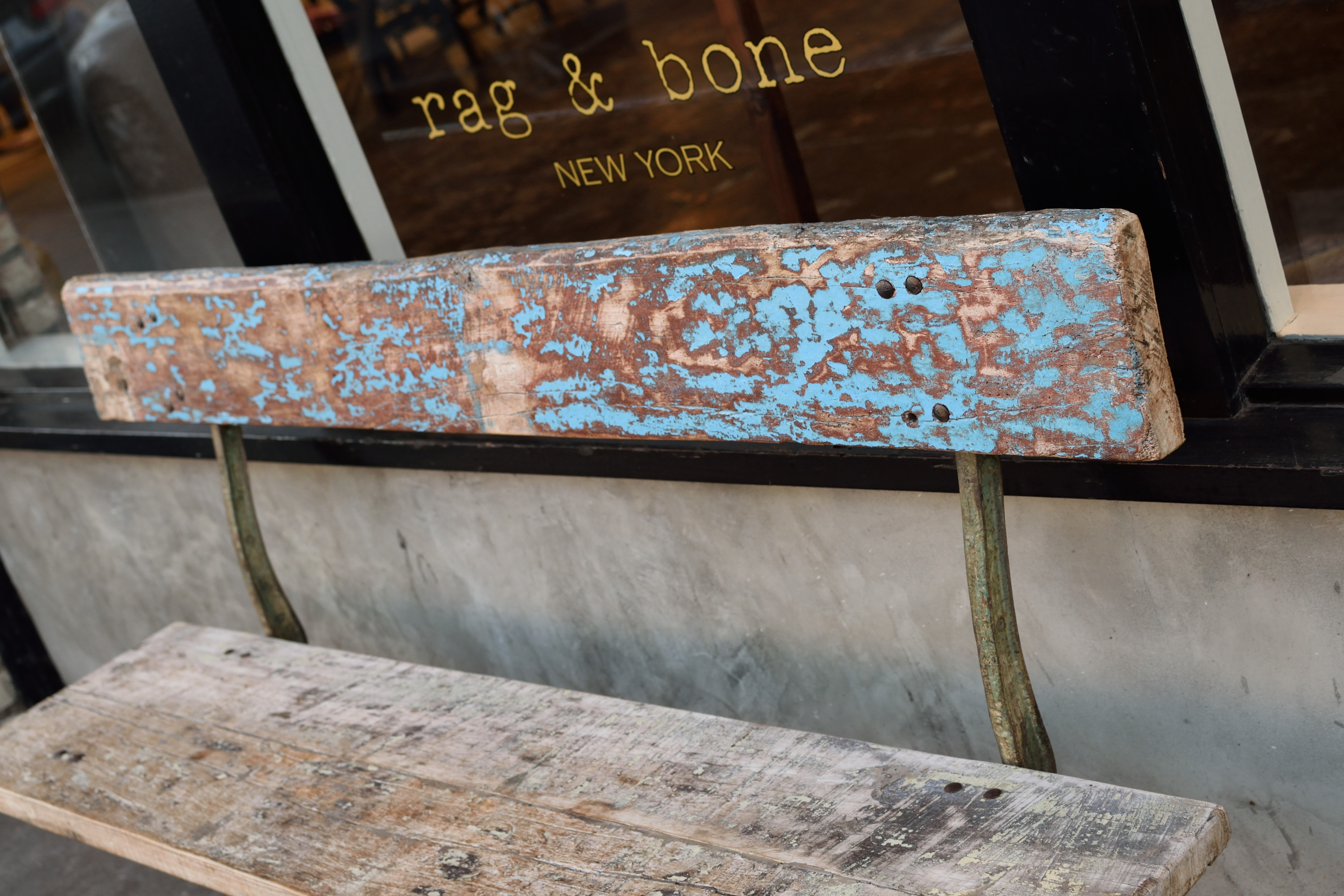 Rag and Bone Bench