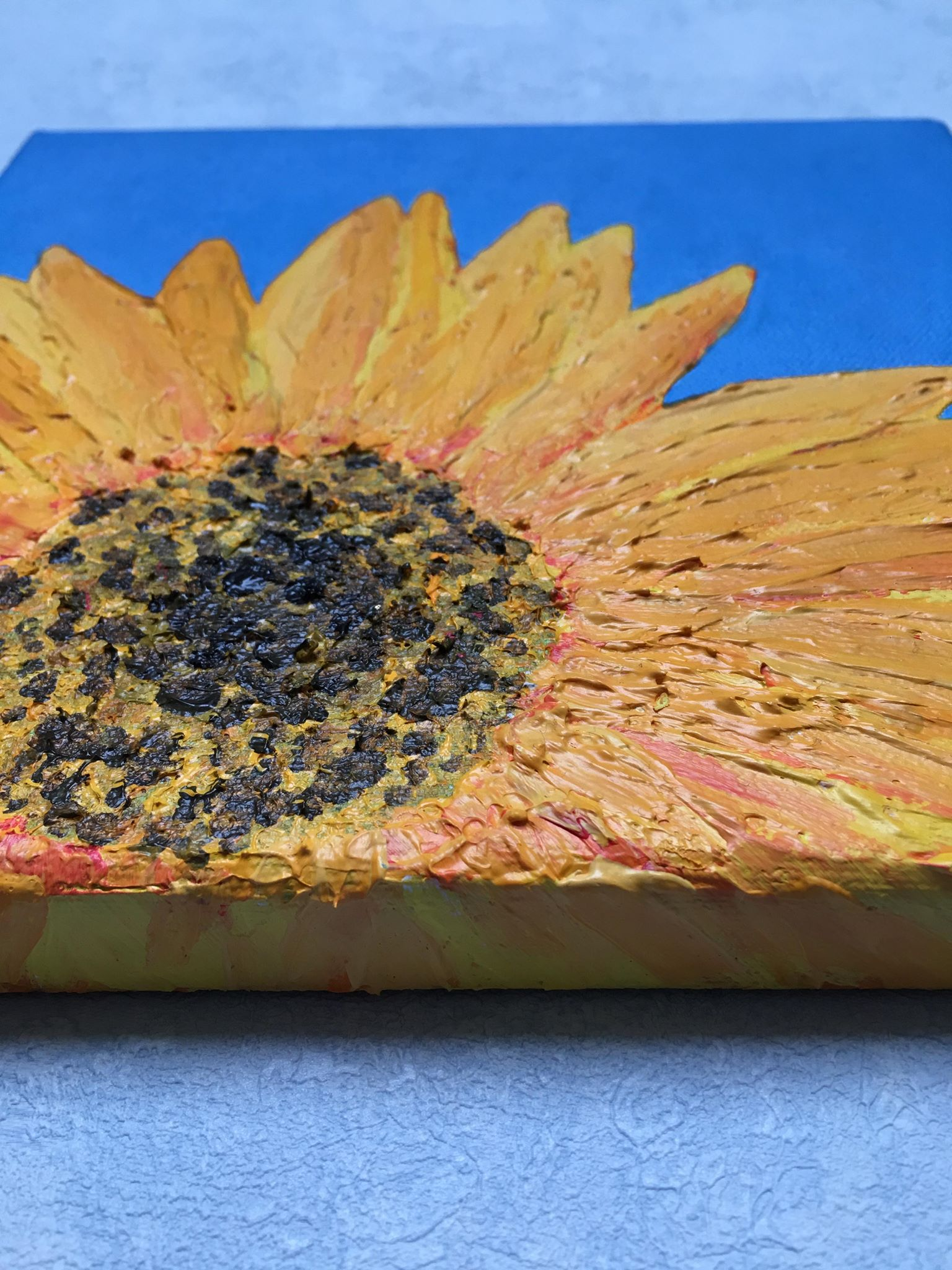 Sunflower 1 close up2